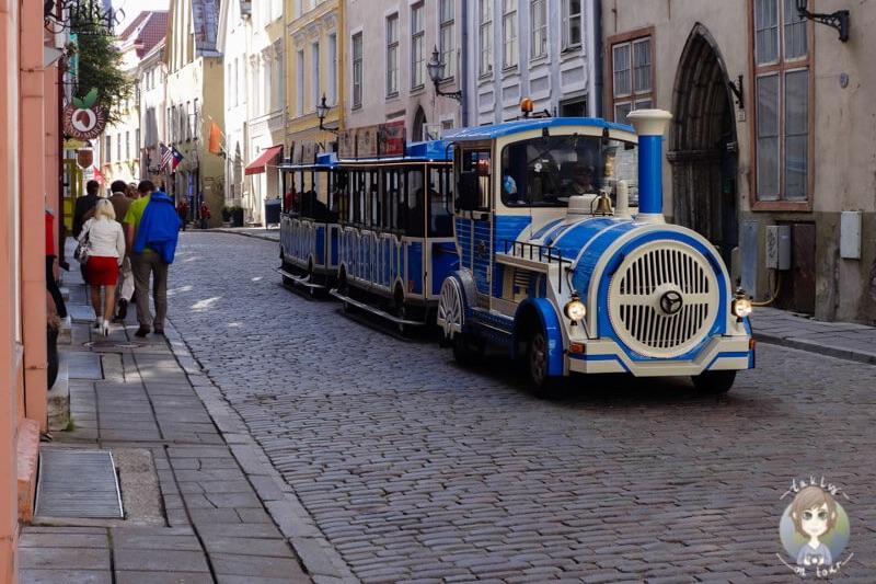 Mit der Bimmelbahn durch Tallinn