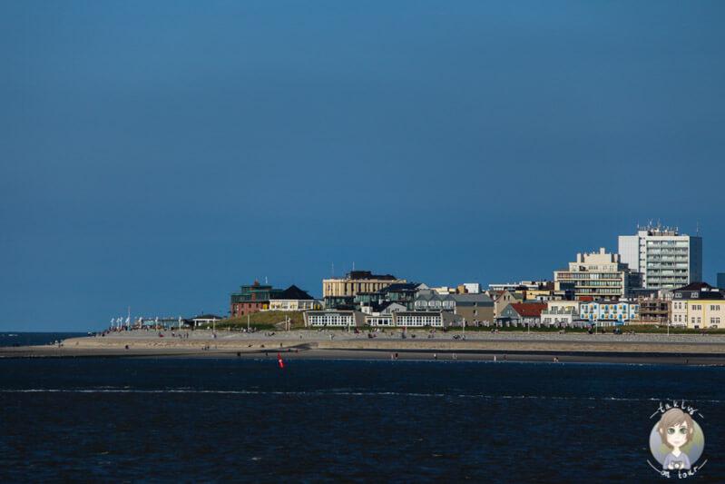 Ein letzter Blick auf die Insel Norderney