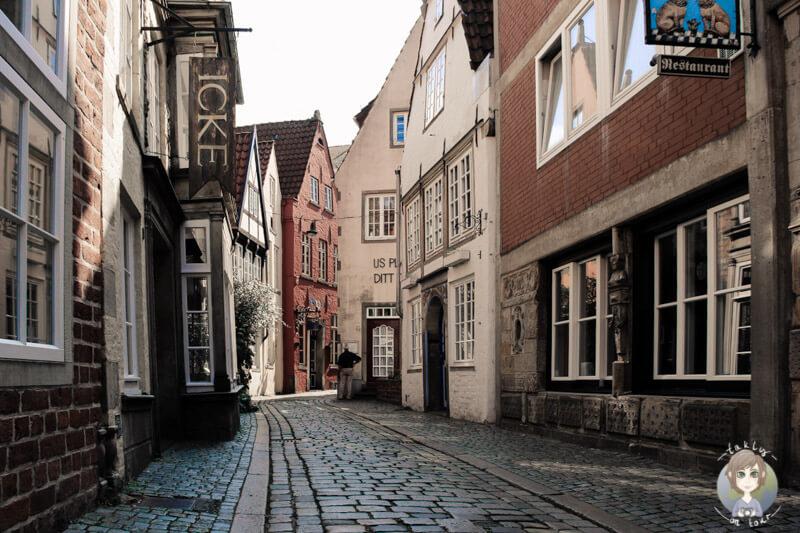 Schnoor - ein Viertel zum Verlieben in Bremen