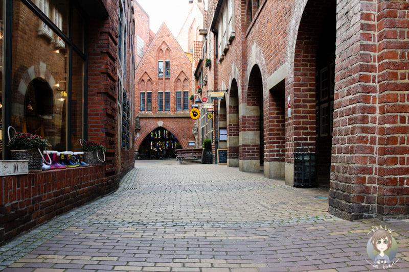 Die Böttcherstraße in Bremen