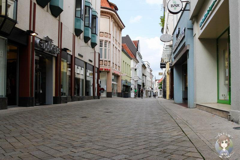 Die Innenstadt von Oldenburg