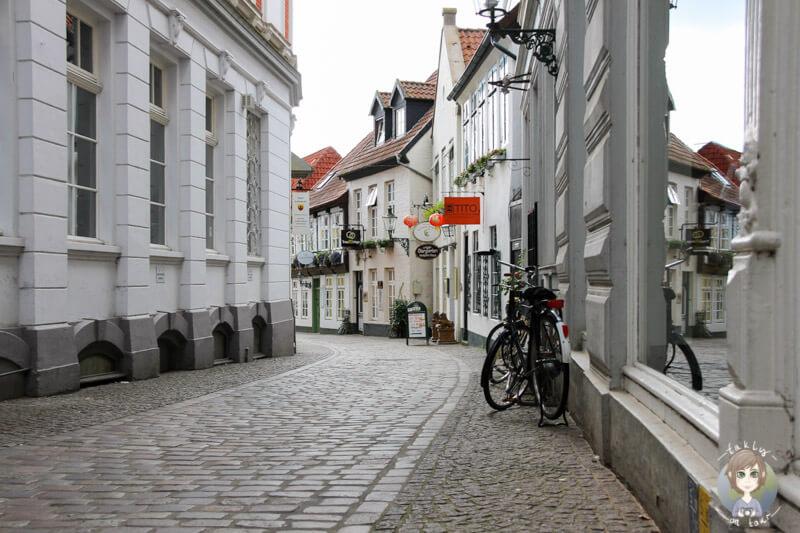 Wunderschöne Seitengassen im Zentrum von Oldenburg