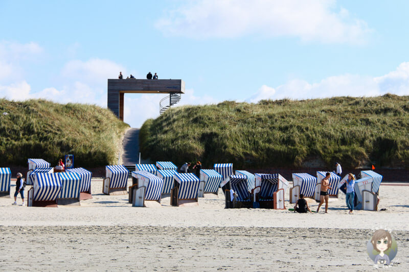 Strandkörbe auf Norderney