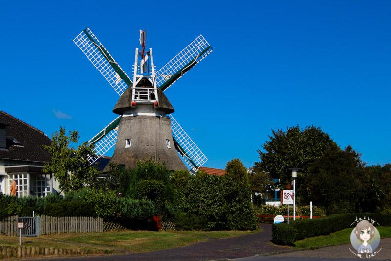 Die Mühle von Norderney in der Mühlenstraße