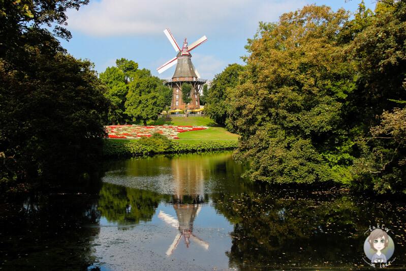 Die Mühle am Wall in Bremen, Deutschland