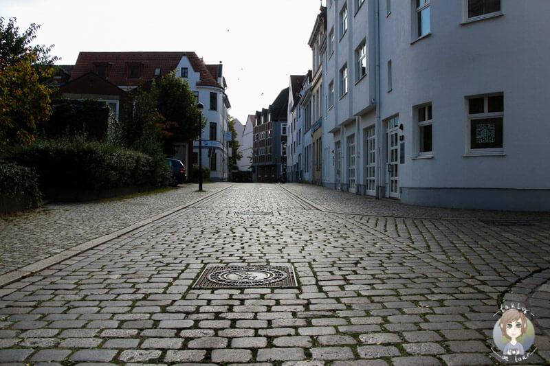 Der Eingang zu Bremens malerischen Viertel Schnoor