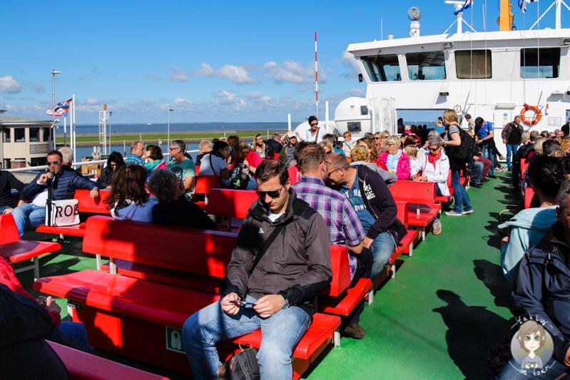Mit der Fähre nach Norderney