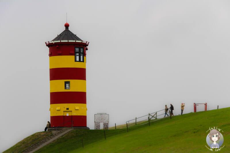 Der Leuchtturm in Pilsum, an der Nordsee -Ottos Leuchtturm