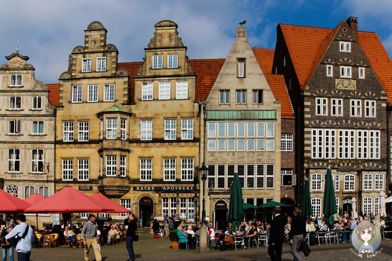Ein schöner Platz zum Flanieren ist die Altstadt in Bremen