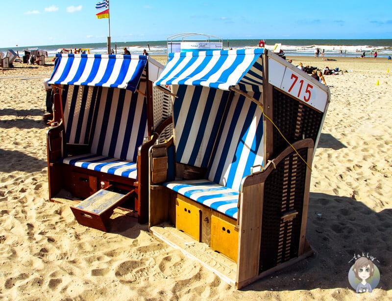 Perfekter Platz für eine Ruhepause am Strand