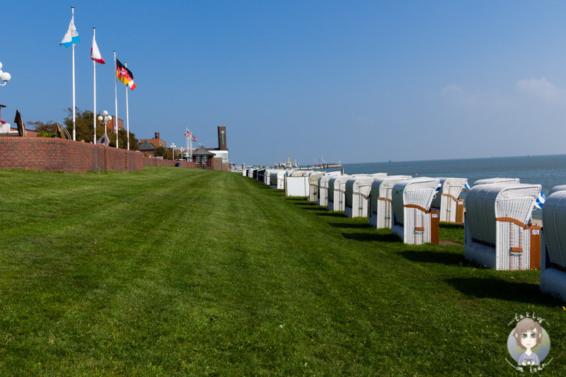 Strandkörbe in Wilhelmshaven