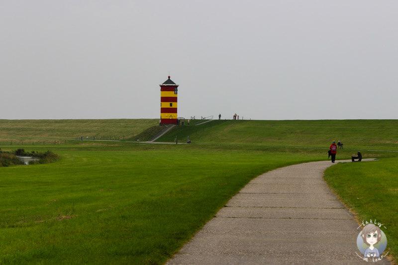 Der Leuchtturm in Pilsum, Urlaub in Ostfriesland, Deutschland