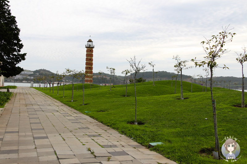 Auf dem Weg zum Torre de Belém