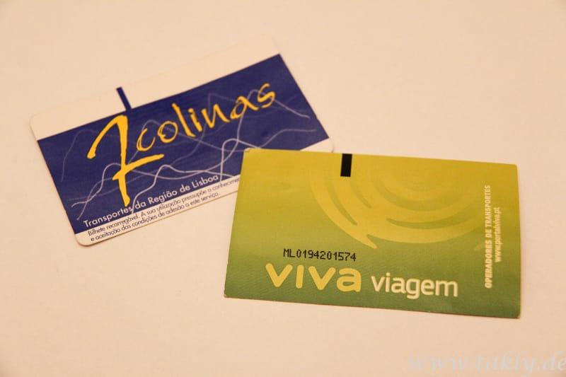 Fahrkarten in Lissabon