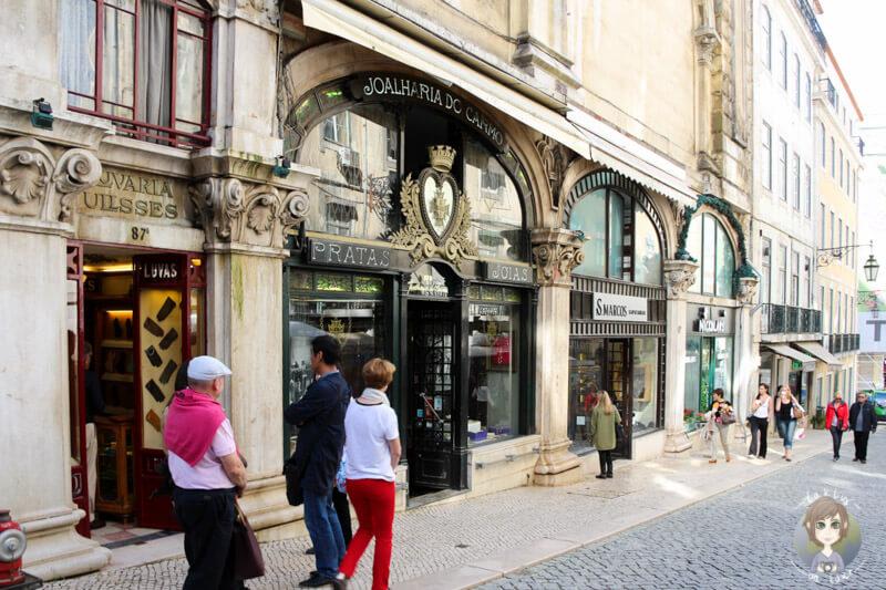 Die sehenswerte Innenstadt von Lissabon