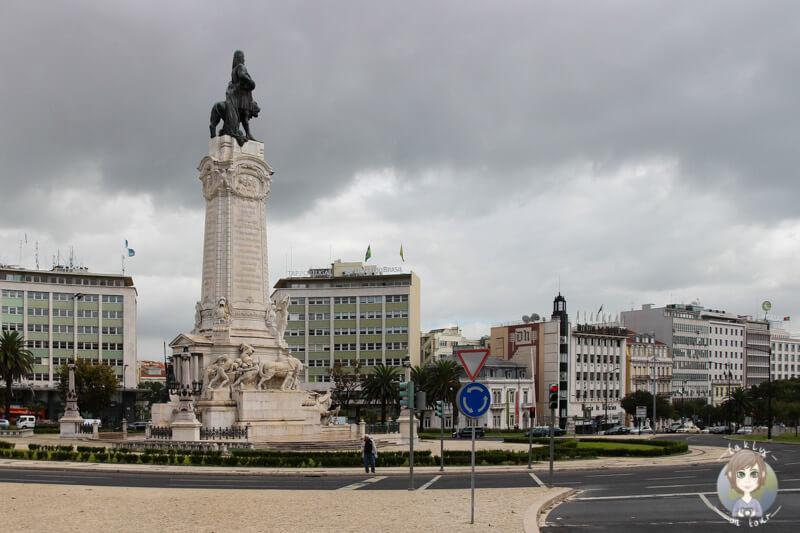 Praça Marquês de Pombal, Lissabon