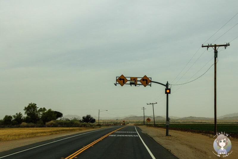 Eine Straße in Arizona