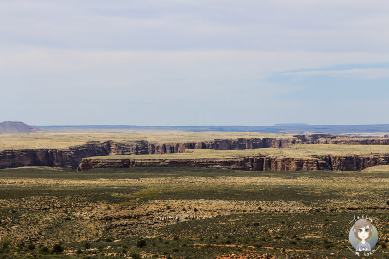 Blick auf die Ausläufer des Grand Canyons