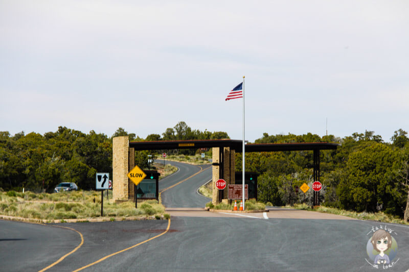 Osteingang Grand Canyon National Park