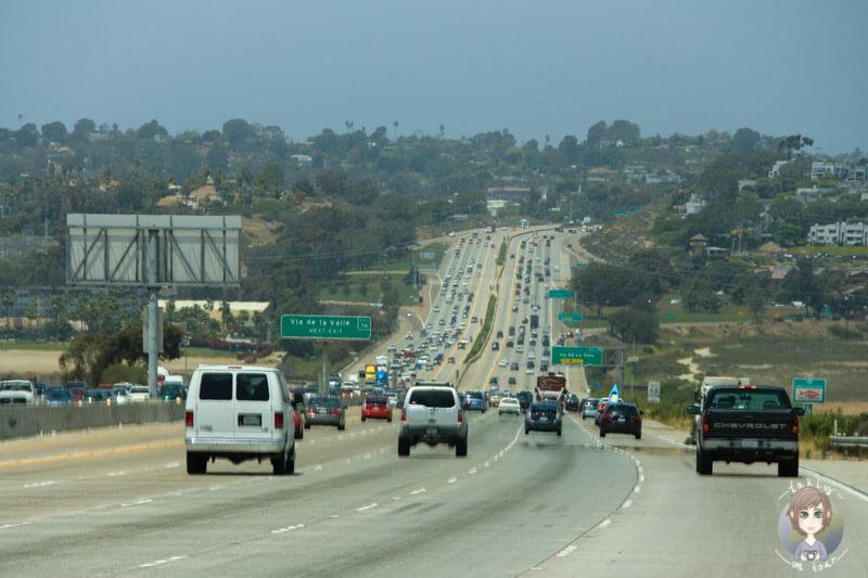 Interstate in Kalifornien