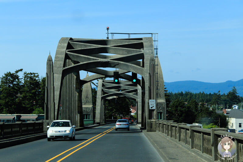 Eine Brücke in Oregon
