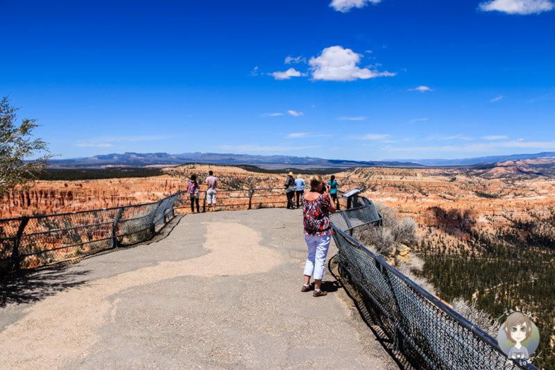 Aussichtsplattform im Bryce