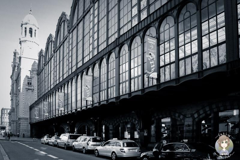 Der Beginn des Diamantenviertels Antwerpen