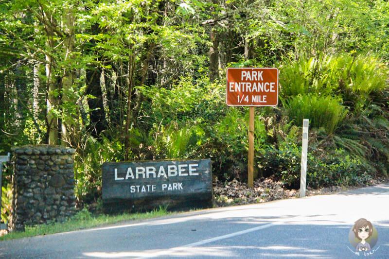 Eingang des Larrabee State Park