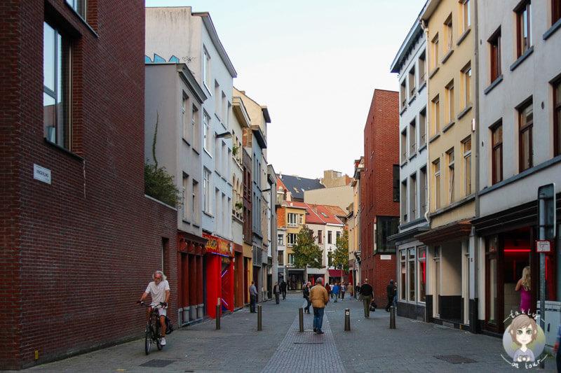 Das Rotlichtviertel von Antwerpen