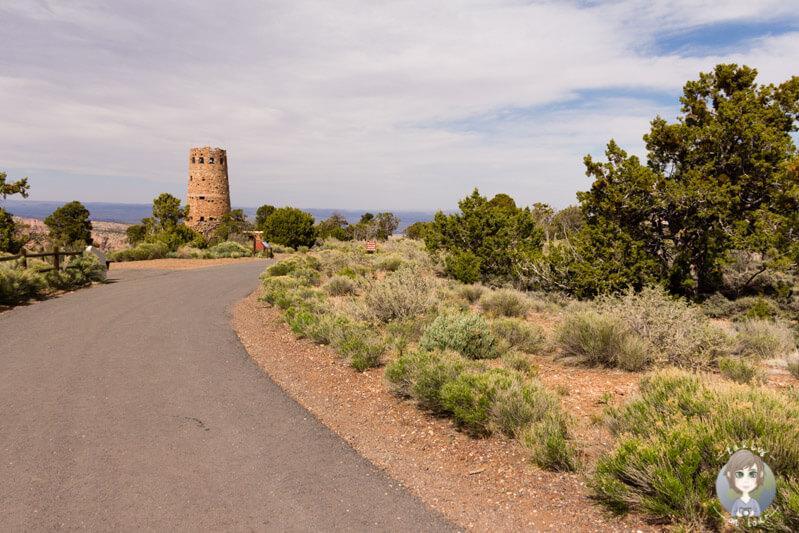 Desert Viewpoint im Grand Canyon