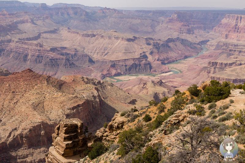 Desert Viewpoint am Grand Canyon