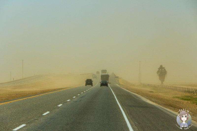 Sandsturm in El Centro
