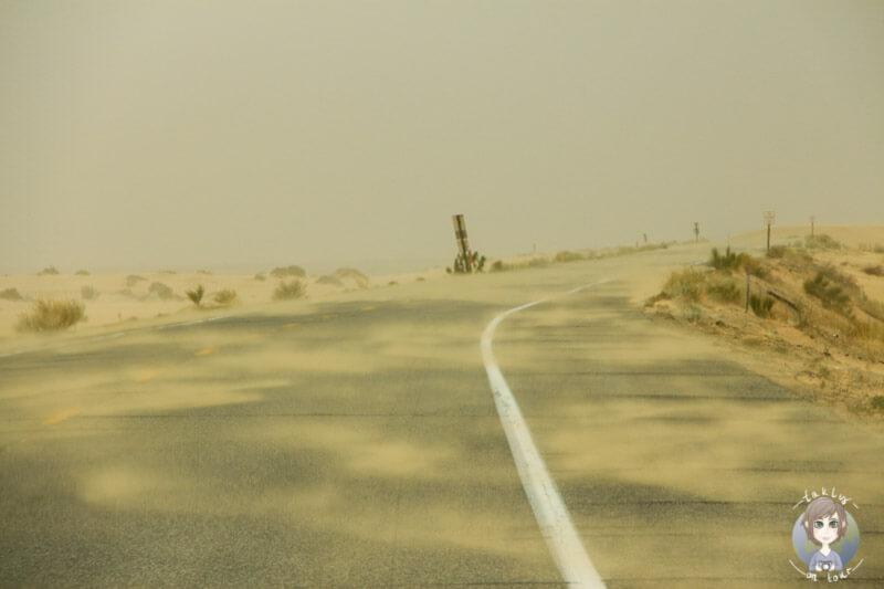 Sandsturm bei El Centro