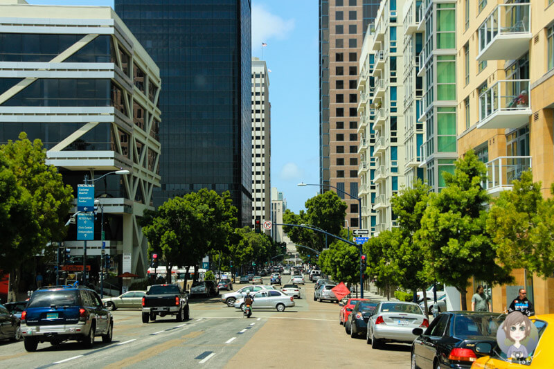 Fahrt durch San Diego