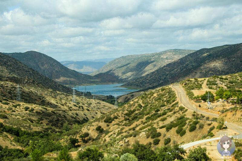 Passstraße im Süden von Amerika