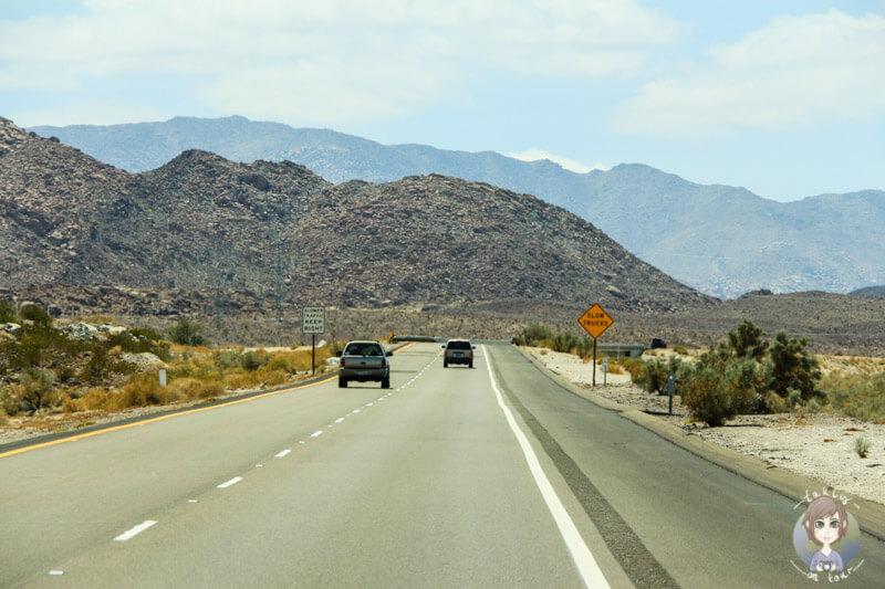 Fahrt nach San Diego