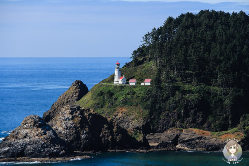 Der Heceta Head Leuchtturm in Oregon