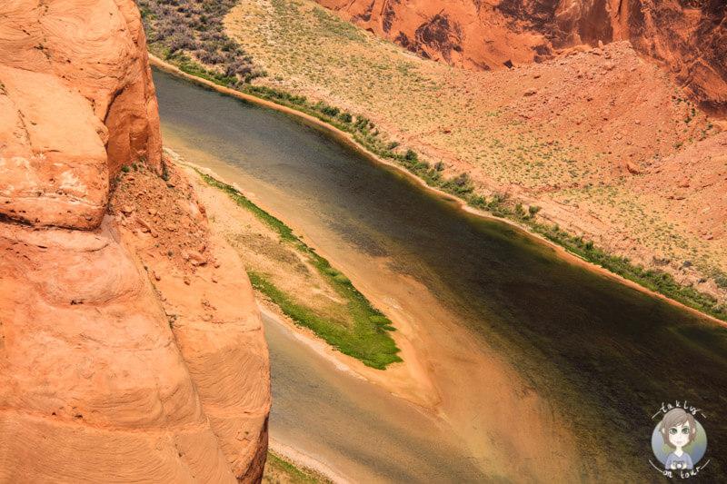 Colorado River am Horseshoe Bend