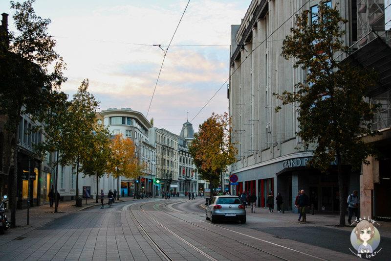 Die Innenstadt von Antwerpen