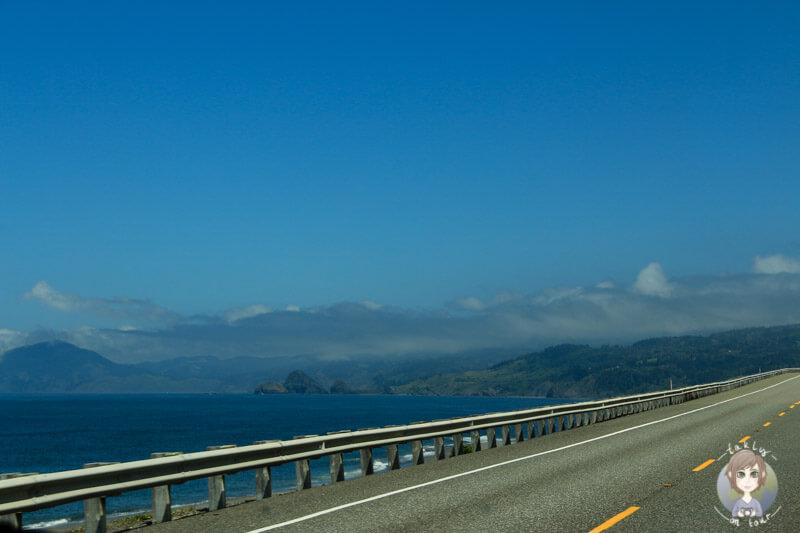 Küstenstraße in Oregon