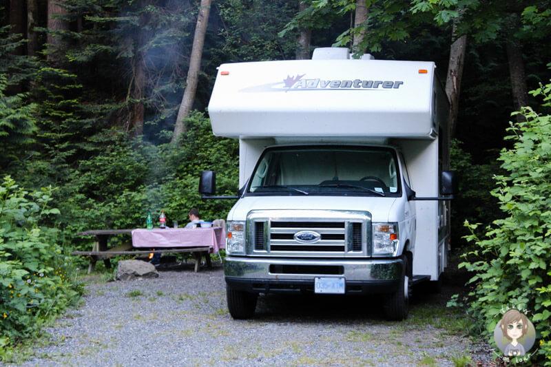 Camping im Larrabee State Park
