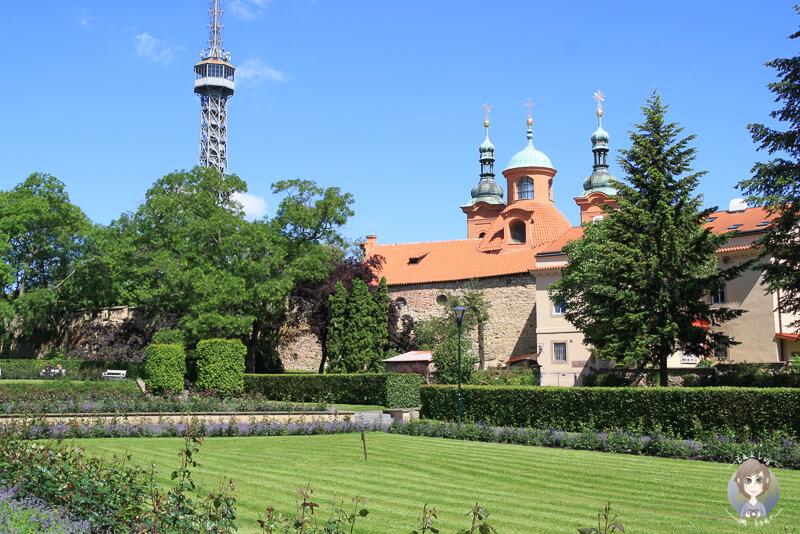 Laurenziberg-Petřin-Prag