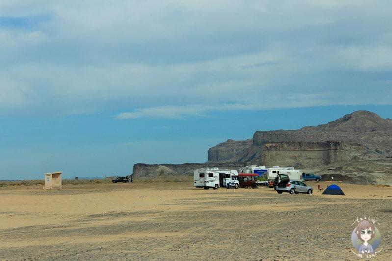 Campingplatz Lone Rock am Lake Powell