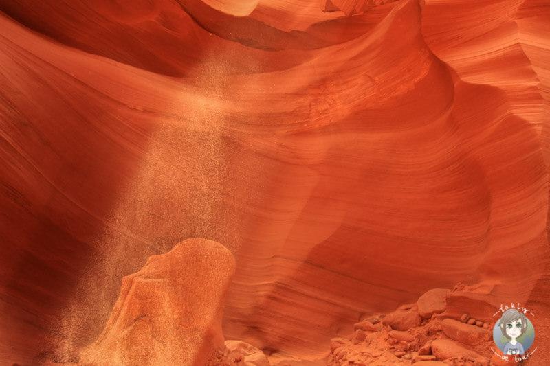 Spots im Lower Antelope Canyon