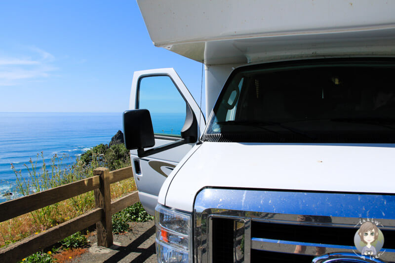 Mit dem Camper in Kalifornien waehrend unserer Rundreise USA Westkueste