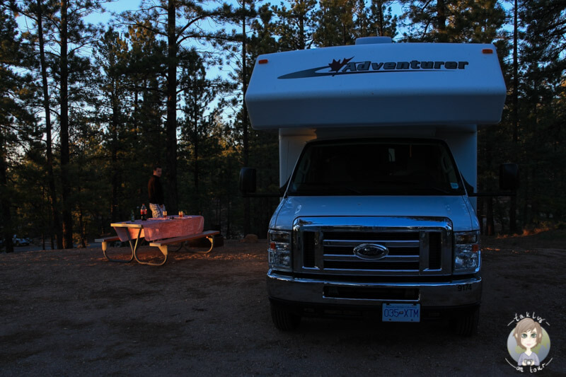 North Campground im Bryce Canyon National Park