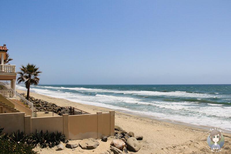 Der Strand in Oceanside