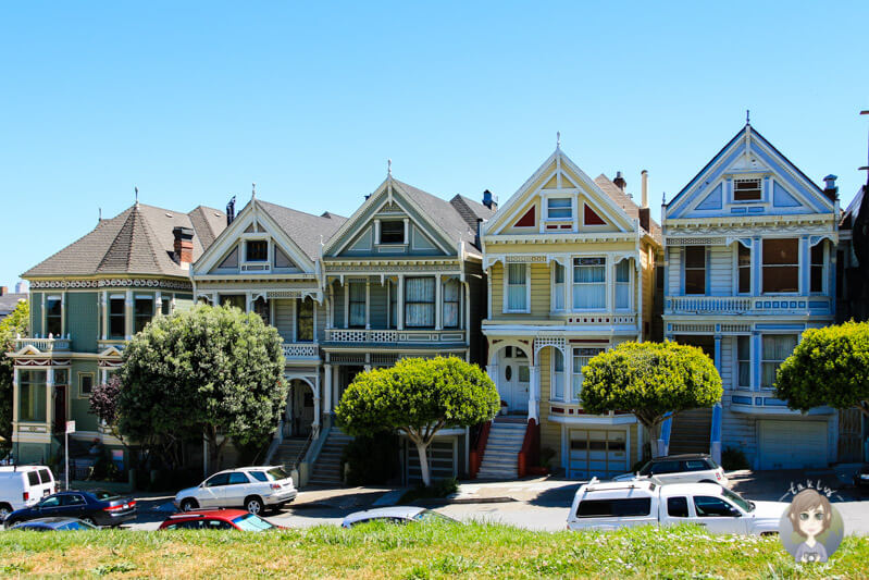 Die Painted Ladies in San Francisco