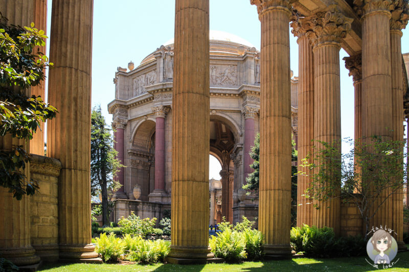 Palace of Fine Art in San Francisco
