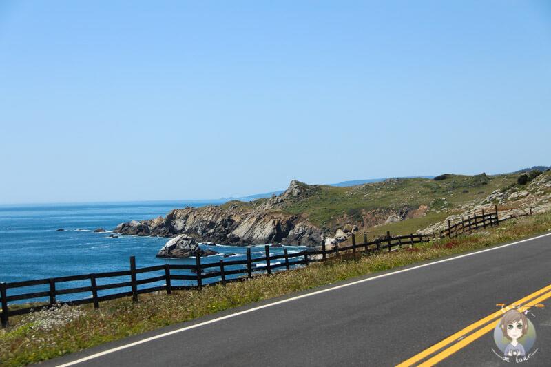 Route in Kalifornien (2)